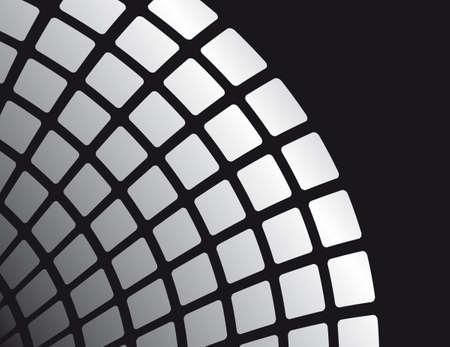 cruce de caminos: Blanco y negro de fondo abstracto. Ilustraci�n vectorial
