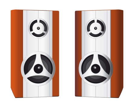 Two speakers for your computer. illustration Stock Vector - 8582677