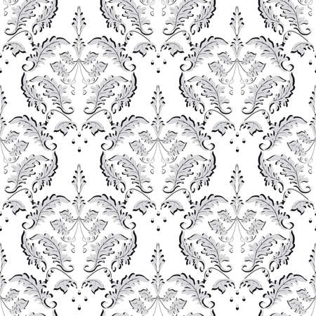 Seamless background gray and white. Vector illustration Stock Vector - 9172954