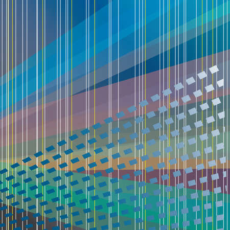 Abstract background of colored stripes. Vector illustration Vector