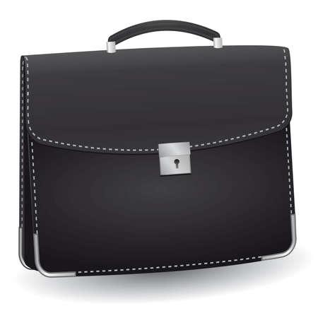 lack: lack briefcase for the businessman. Vector illustration