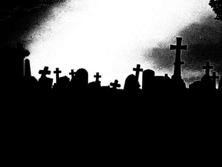 hereafter: Dawn at the graveyard