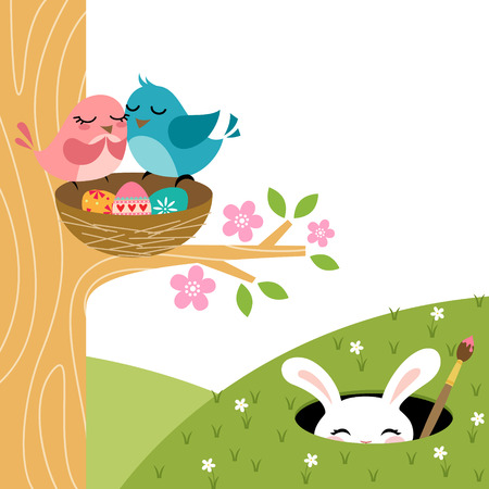 16,898 Easter Bird Stock Illustrations, Cliparts And Royalty Free ...
