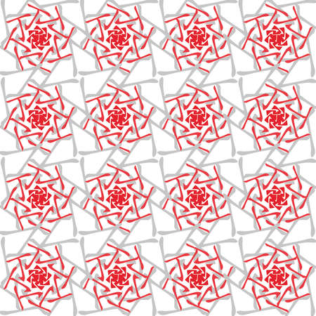 chinese astrology: Feng Shui, Bazi, Tin,, Chinese Astrology, 4 Pillars of Destiny, chinese ornament, red, seamless pattern