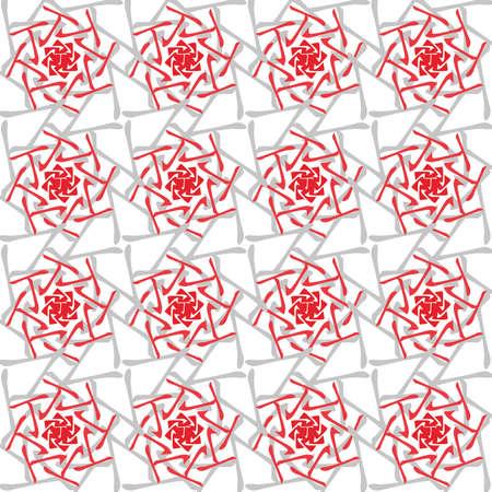 destiny: Feng Shui, Bazi, Tin,, Chinese Astrology, 4 Pillars of Destiny, chinese ornament, red, seamless pattern