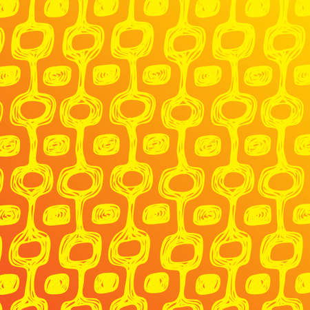Ipanema beach pattern banner. Vector illustration. Brasil style pattern with palm tree. Illustration