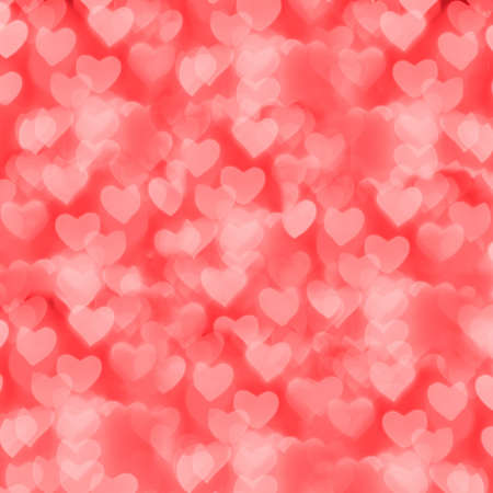 valentine s day: St  Valentine s Day red bokeh background, place for text