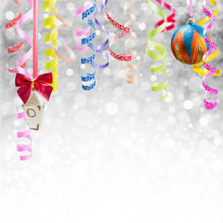 Holiday background for Christmas and New Year Фото со стока