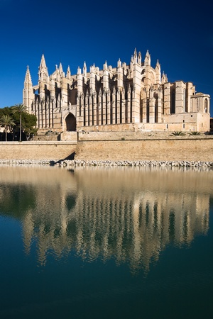 La Seu Cathedral, Palma, Mallorca, Balearic Islands, Spain Stock Photo - 9427381