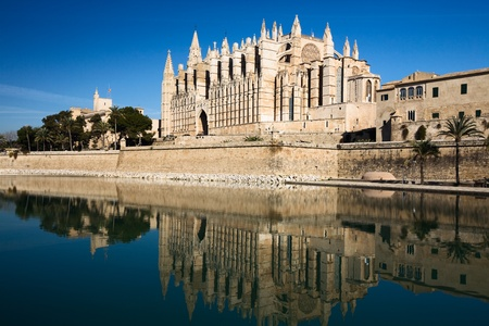 La Seu Cathedral, Palma, Mallorca, Balearic Islands, Spain photo