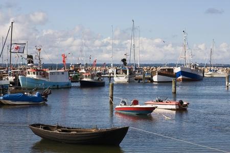 Marina at Glowe, Ruegen Island, Germany photo