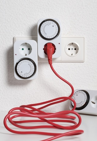 switch plug: Timer switch saving energy and money