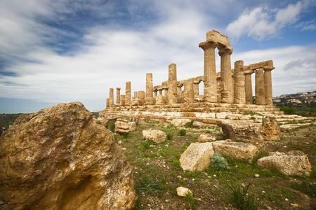 Juno Temple, Valley of temples, Agrigento, Sicily photo