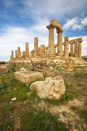 valley of the temples: Juno Temple, Valley of temples, Agrigento, Sicily