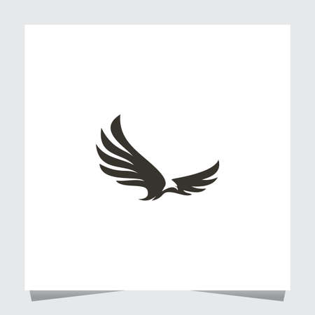Black Eagle Logo Inspirations Template