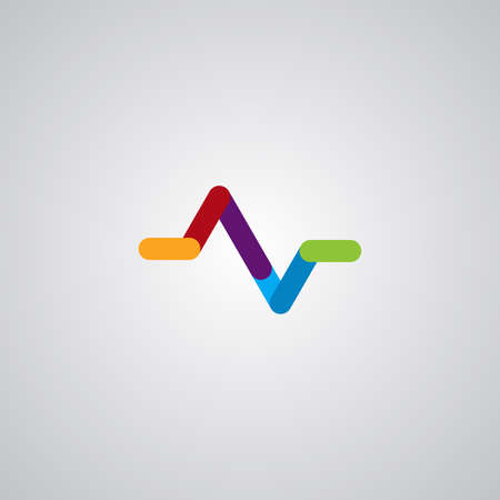 Illustration vector graphic of Flat Pulse. Perfect to use for Medical Company