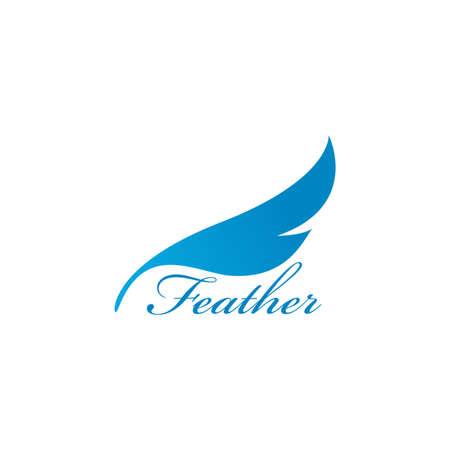 Illustration Vector Graphic of Feather