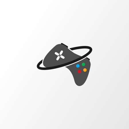 Illustration Vector Graphic of Joystick Planet. Perfect to use for Gaming House