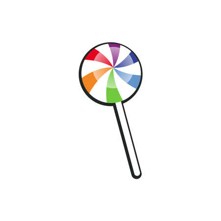 Illustration Vector Graphic of Lollipop Vettoriali
