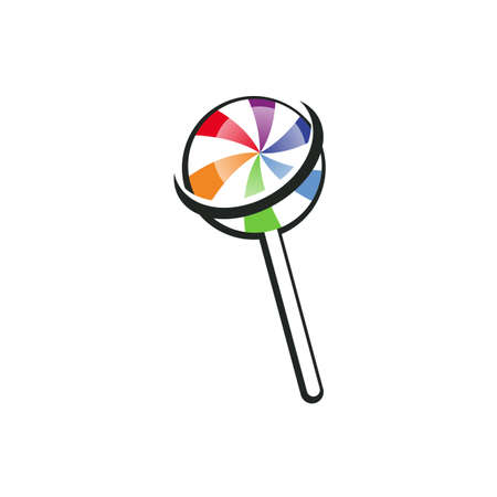 Illustration Vector Graphic of Lollipop Space. Perfect to use for Candy Shop