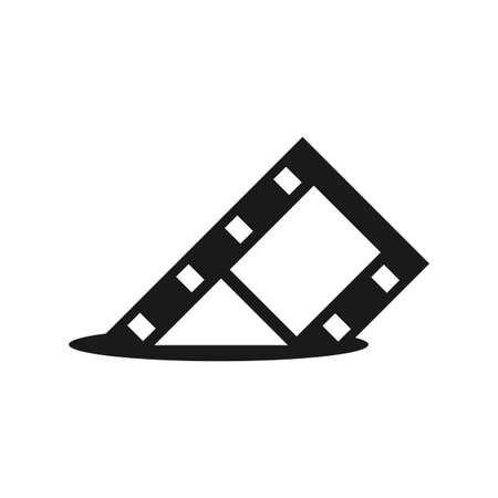 Illustration Vector Graphic of Film Reel. Perfect to use for Cinema logo