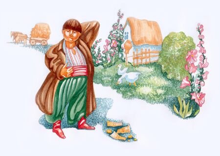 Ukrainian heroes of fairy tales