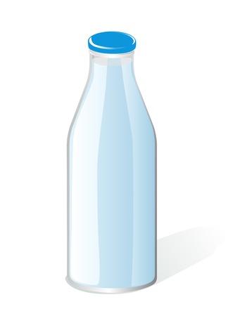 pasteurized: milk bottle