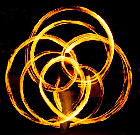 poi: Fire poi in action