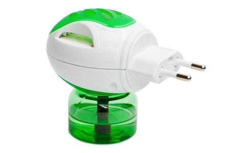 fumigador: Fumigador fluido el�ctrico aislado en el fondo blanco