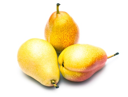 osolated: pears osolated on white background Stock Photo