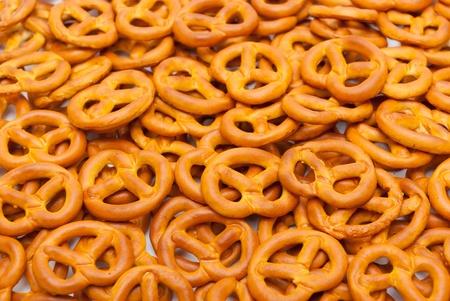 pretzels: Small pretzels