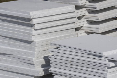 Stack of facing slab (Building materials)