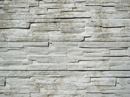 structured: Horizontally structured white brick wall texture