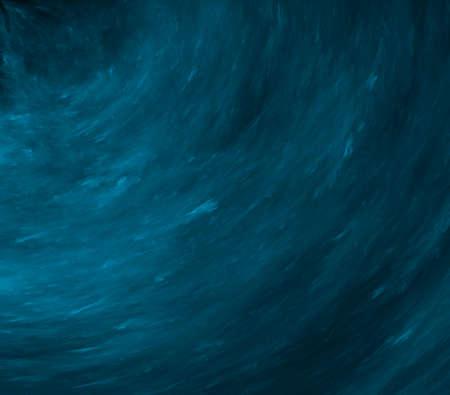 wawe: Dark blue wawe, abstract generated fractal backgorund Stock Photo