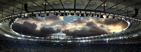 Inside Stadium Sky View