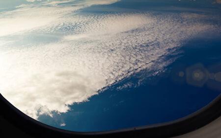 Plane Portal wonderful cloudscape view