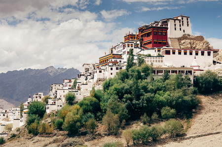 Thiksey Monastery in Leh, Ladakh region Stock Photo