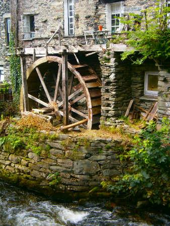 grist: Waterwheel in Disrepair