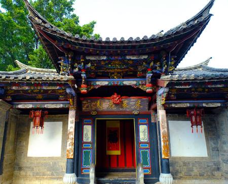 chinese courtyard: chinese courtyard