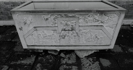 stoneware: chinese old stoneware Stock Photo