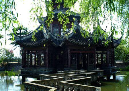 chinese garden: chinese garden landscape