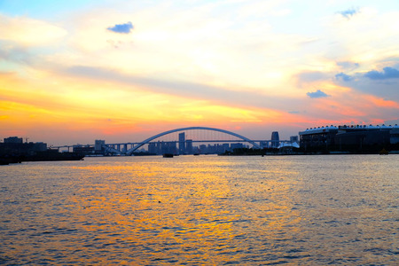 shanghai bridge scenery Banco de Imagens - 84099088