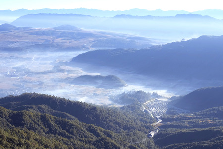 Yunnan landscape scenery view