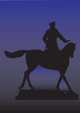 aristocracy: Silhouette of a horse