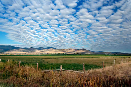 Landscape in Montana (Big Sky Country) photo