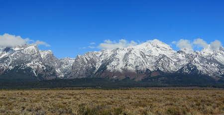 Mountains at Grand Teton National Park, Wyoming, USA Stock Photo - 8088041