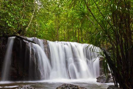 Suoi Tranh waterfall in Phu Quoc, Vietnam Stock Photo - 8159714