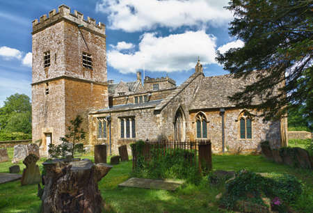 St. Mary Church in Cotswolds, Chastleton, UK