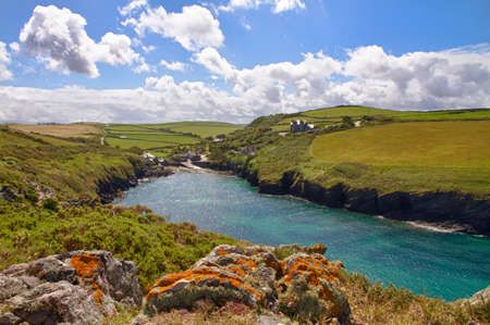quin: Cove at Port Quin, Cornwall, UK