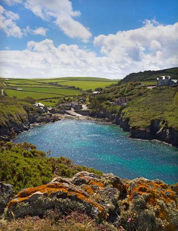 quin: Cove at Port Quin, Cornwall, UK